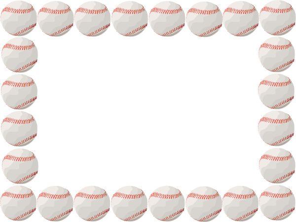 Baseball page border clipart freeuse Free Baseball Border, Download Free Clip Art, Free Clip Art on ... freeuse