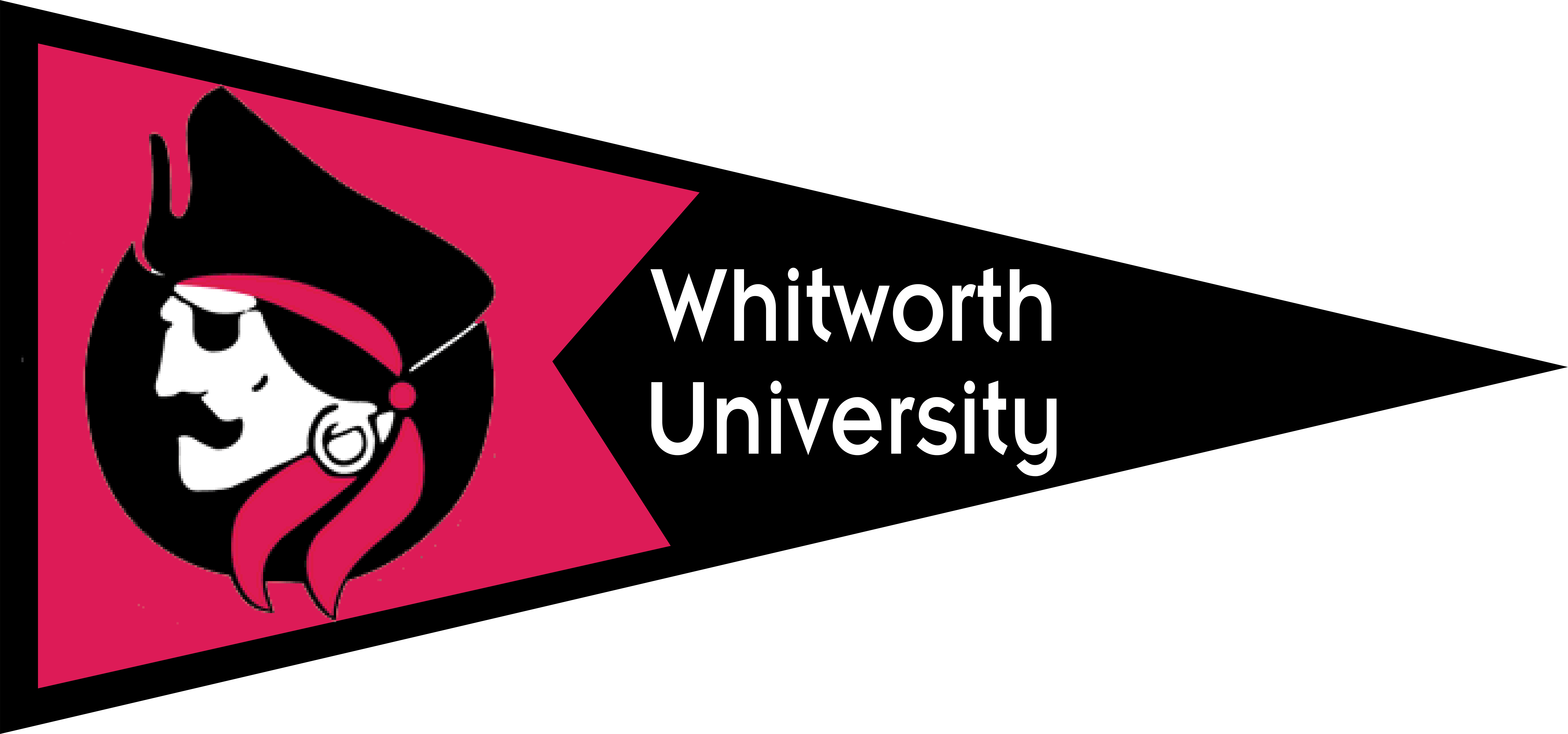 Baseball pennant clipart svg library download Whitworth University Pennant | GEAR UP svg library download