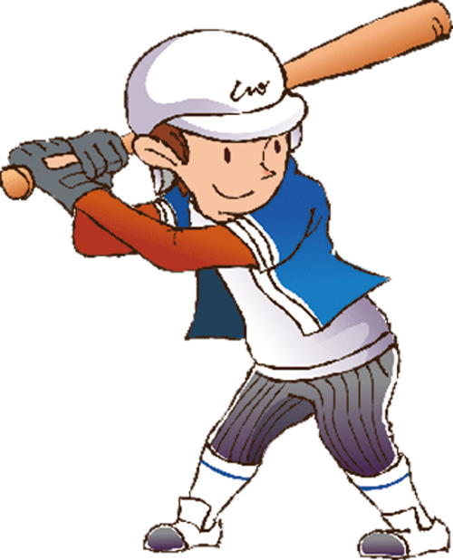 Baseball player swinging a bat clipart graphic black and white stock Cartoon Athlete Baseball - baseball 500*618 transprent Png Free ... graphic black and white stock