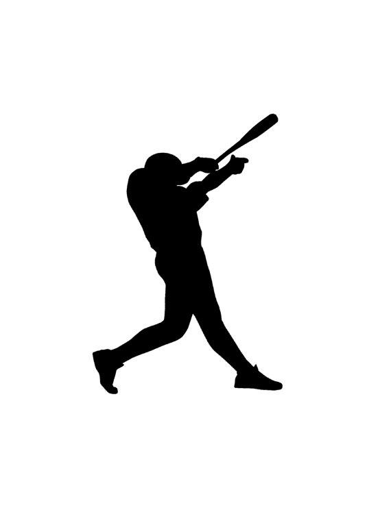 Baseball player fan clipart svg royalty free library Baseball decal-Sports decal-Baseball sticker-Baseball decor-Baseball ... svg royalty free library