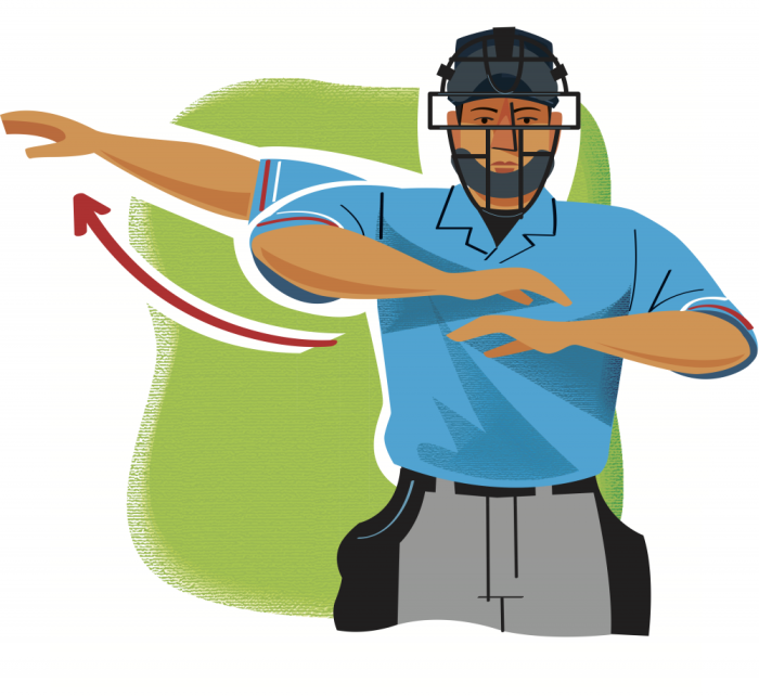 Baseball player fan clipart clip freeuse library 7 Umpire Signals Every Baseball Fan Needs to Know – Boys\' Life magazine clip freeuse library
