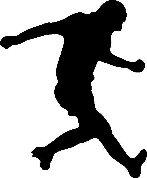 Baseball player silhouette clipart jpg stock Soccer Player Silhouette Clipart | i2Clipart - Royalty Free Public ... jpg stock