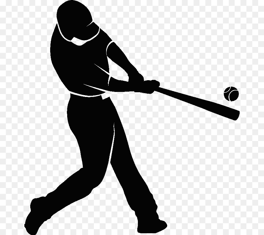 Baseball player swinging bat clipart picture library Free Baseball Swing Silhouette, Download Free Clip Art, Free Clip ... picture library
