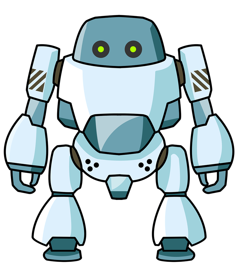 Baseball robot clipart graphic freeuse library 4 in 10 US jobs are at high risk of being replaced by Robots | West ... graphic freeuse library