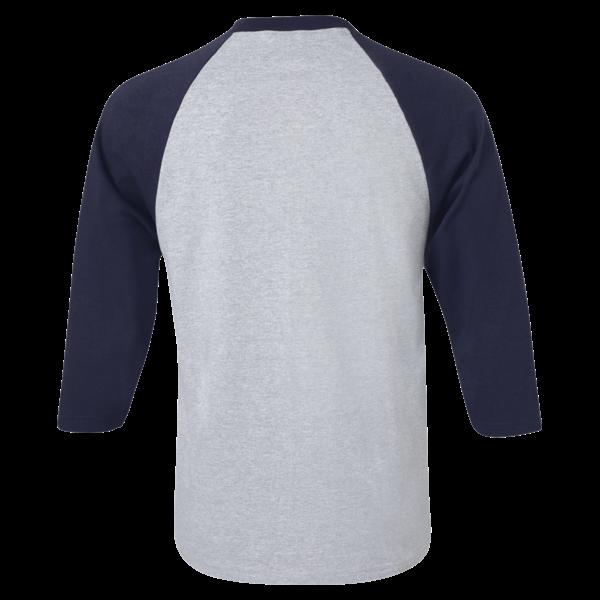 Three quarter sleeve raglan. Baseball shirt ideas clipart