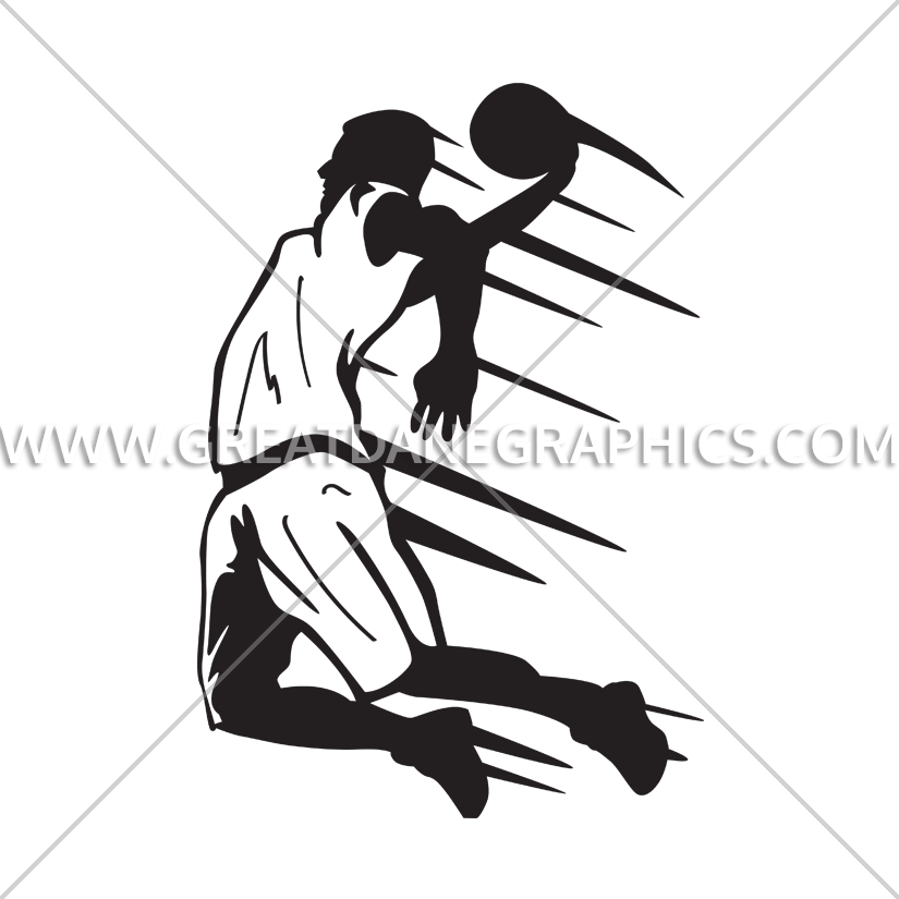 Star production ready artwork. Custom ink clipart basketball shooting