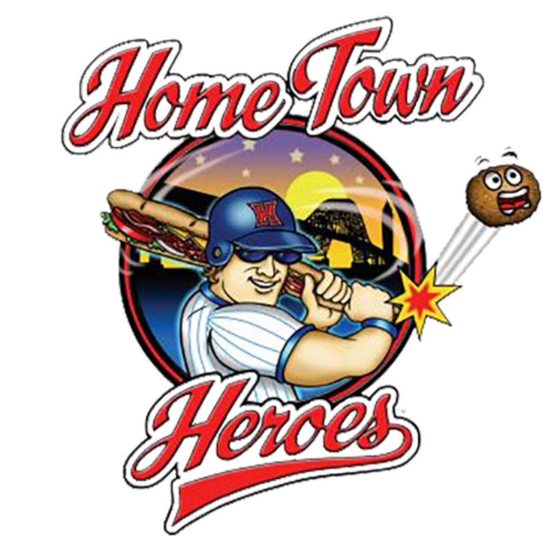Hometown heroes delivery higbie. Baseball shredding clipart
