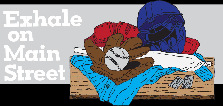 Baseball shredding clipart svg free download Exhale on Main Street – Pot Dads – Medium svg free download