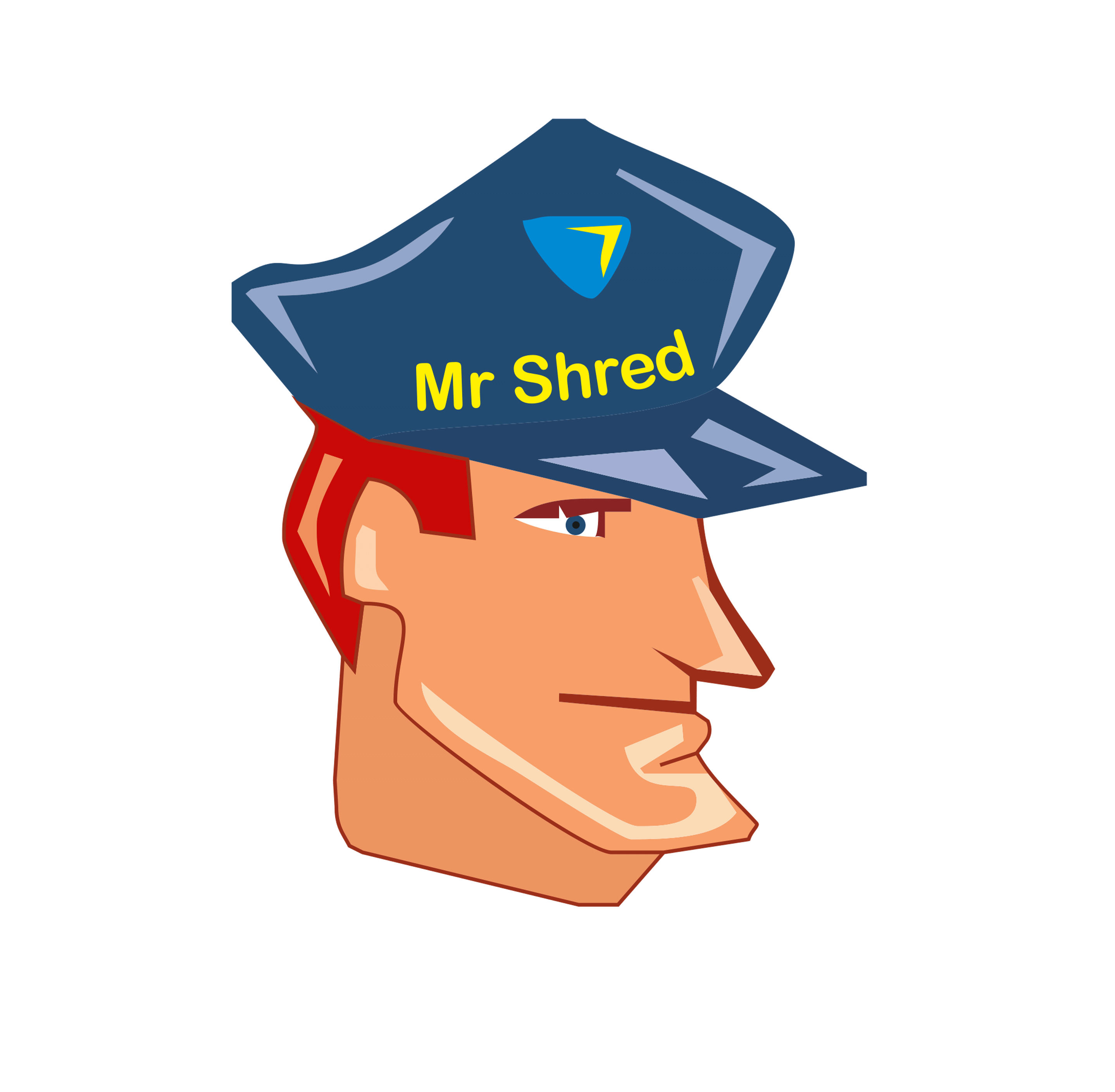 Baseball shredding clipart. Secure with mr shred