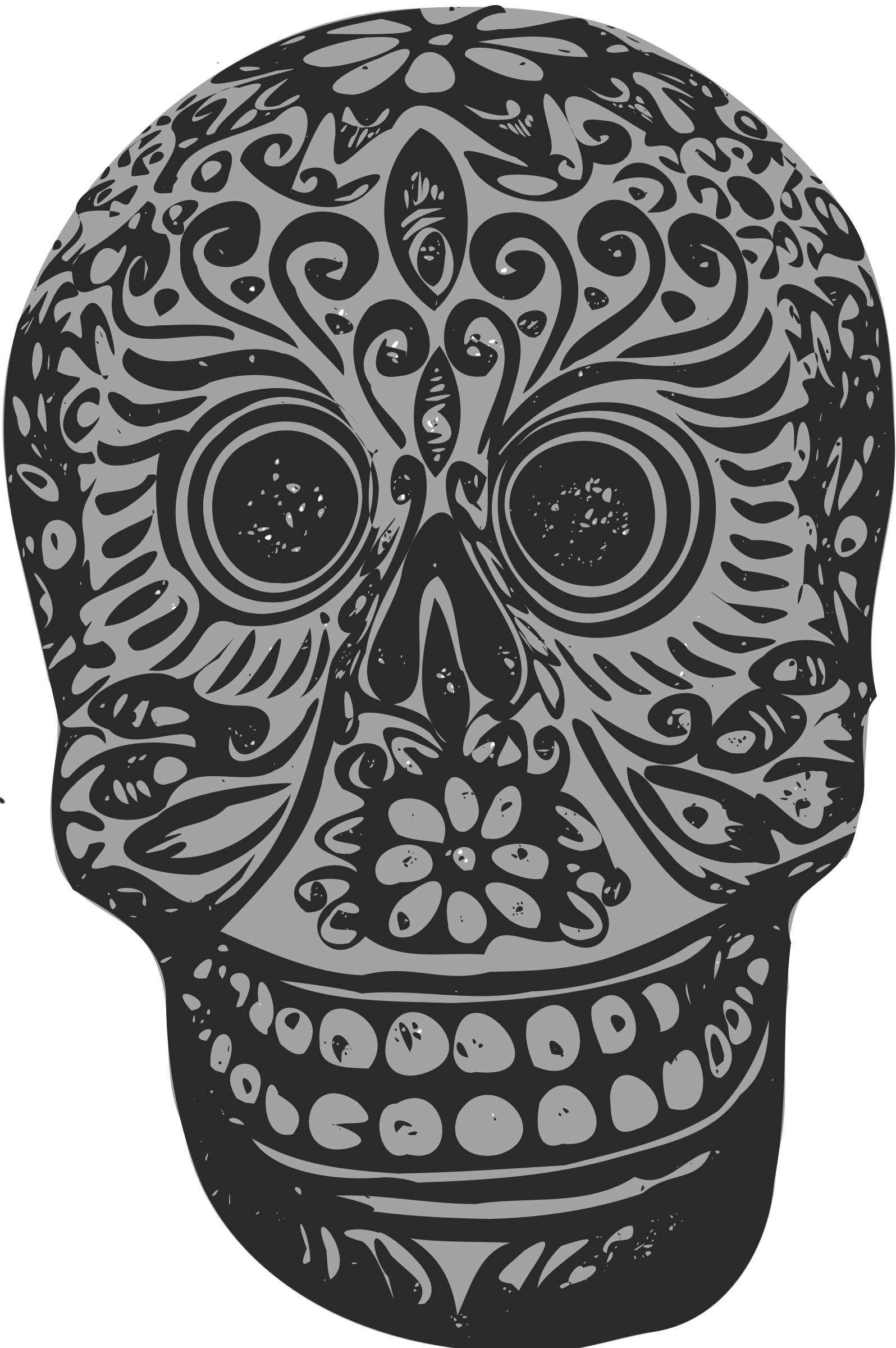 Baseball skull clipart svg free Clipart - Tatoo skull svg free