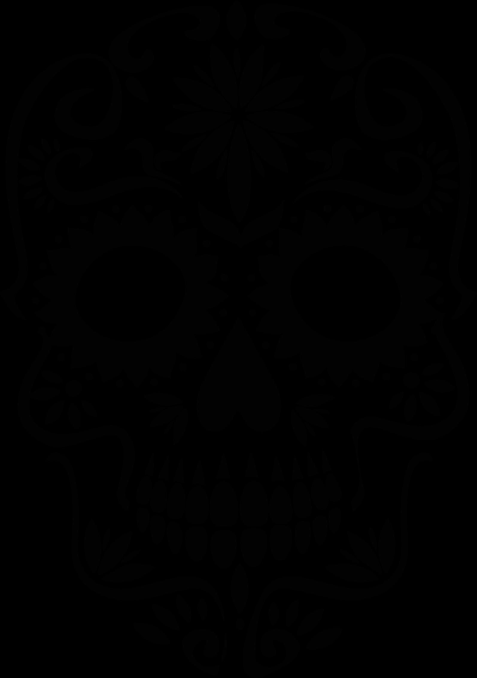 Baseball skull clipart vector royalty free library skull silhouette clip art sugar skull silhouette - Clip Art. Net vector royalty free library