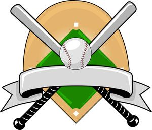 Baseball snacks clipart image library library Baseball Clipart Image: Baseball Logo Graphic with a Baseball ... image library library