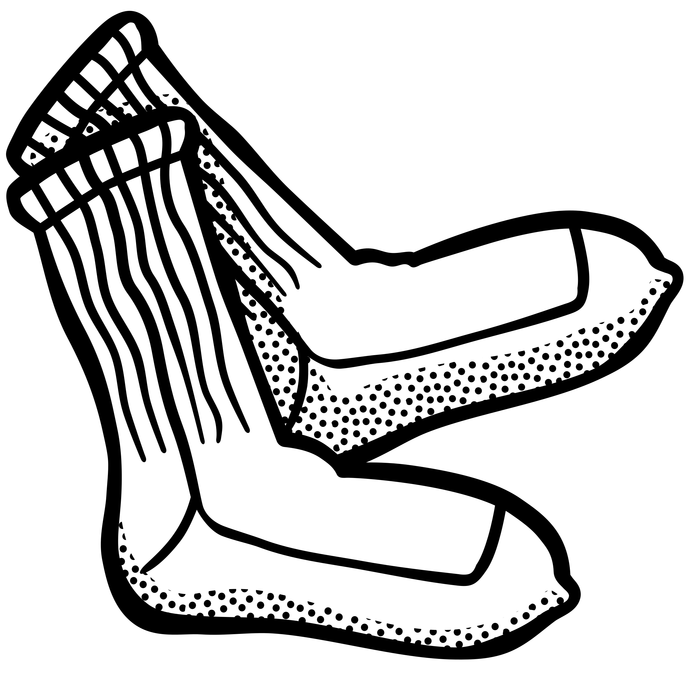 Baseball socks clipart banner free library Socks Drawing at GetDrawings.com | Free for personal use Socks ... banner free library