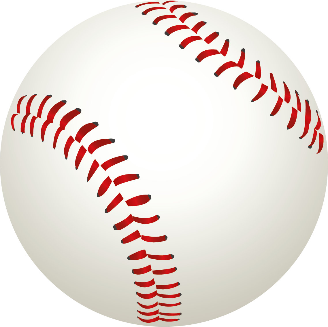 Ball . Baseball stitching clipart