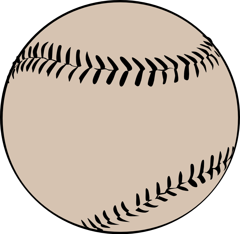 Free clipart images for baseball banner library download Free Baseball Vector Art - Clip Art Library banner library download