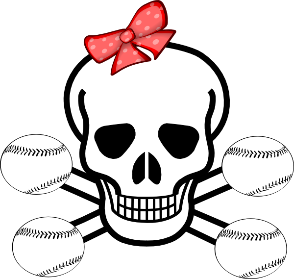 Baseball girl clipart clipart freeuse library Softball clipart color ~ Frames ~ Illustrations ~ HD images ~ Photo ... clipart freeuse library
