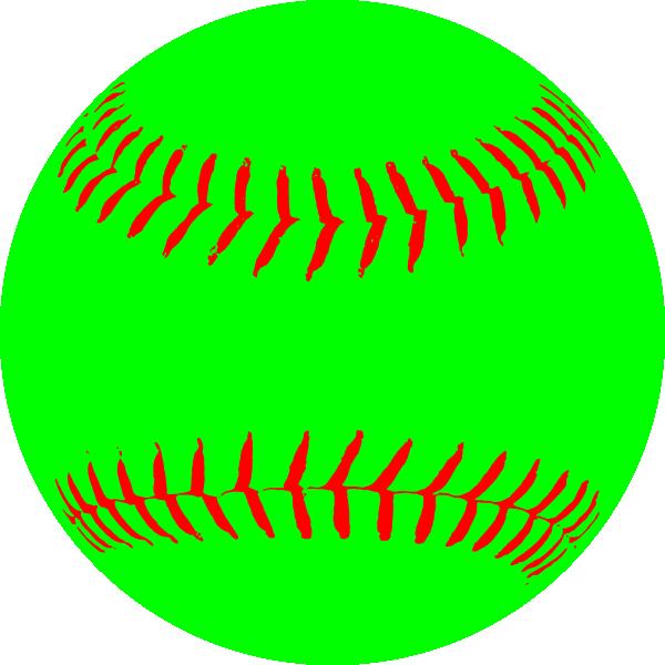 Baseball softball clipart images jpg freeuse stock Green Softball Clip Art at Clker.com - vector clip art online ... jpg freeuse stock