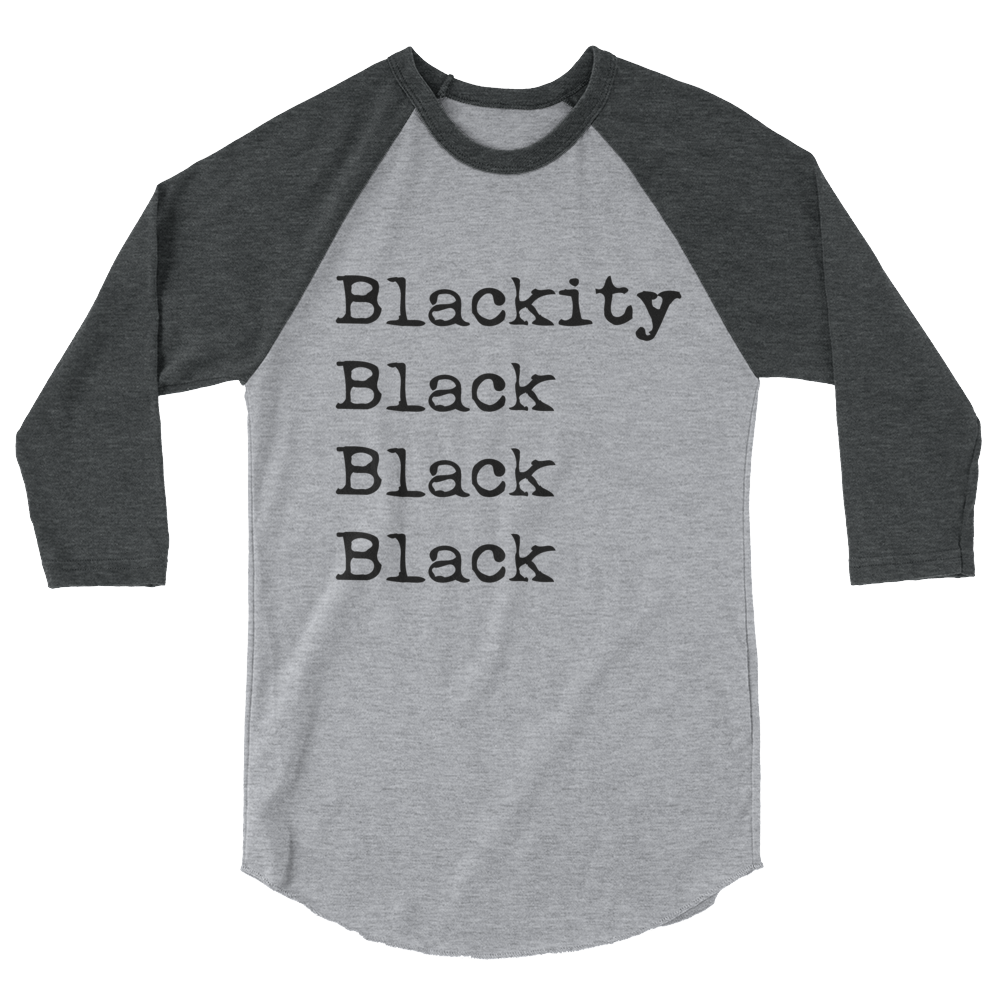 Baseball t shirt clipart vector black and white Blackity Baseball T-Shirt – Heritage1519 vector black and white