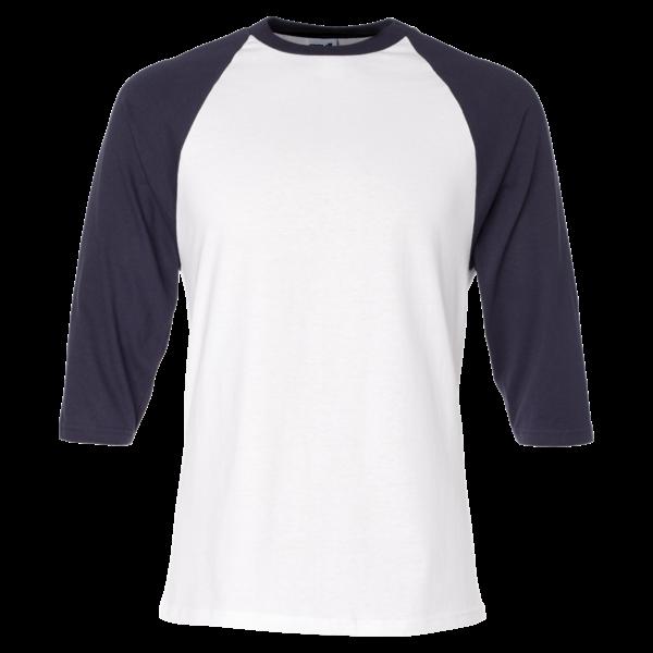 Baseball t shirt clipart image royalty free stock Three-Quarter Sleeve Raglan Baseball T-Shirt - T-Shirt King, Inc ... image royalty free stock