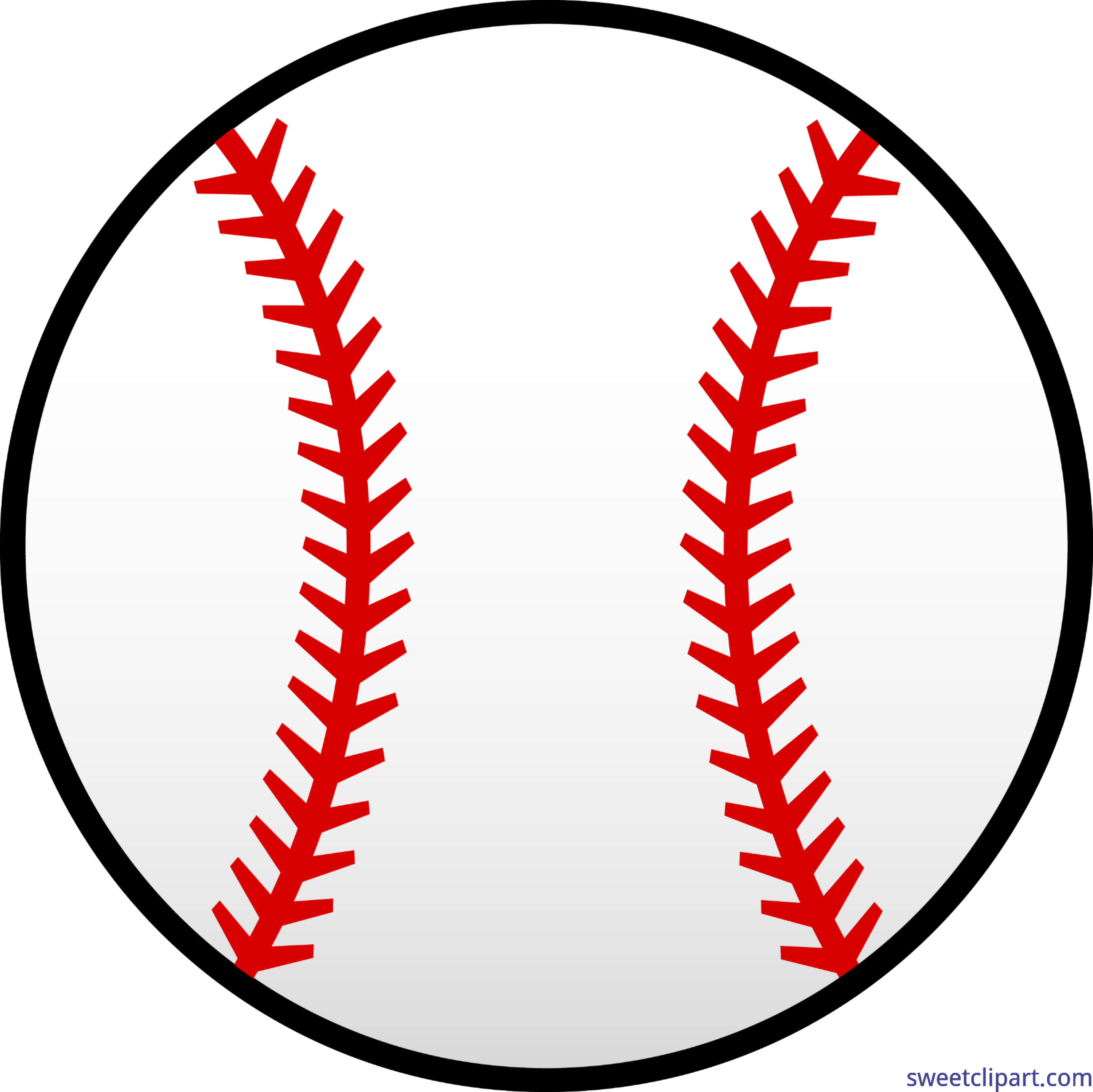 Baseball team clipart svg transparent download Red and White Baseball Clip Art - Sweet Clip Art svg transparent download