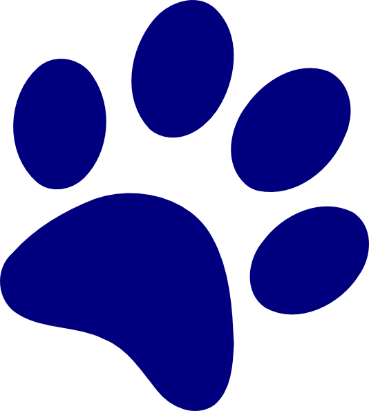 Dog footprint clipart png freeuse library Bobcat Paw Print Clip Art - ClipArt Best | Cricut Projects ... png freeuse library