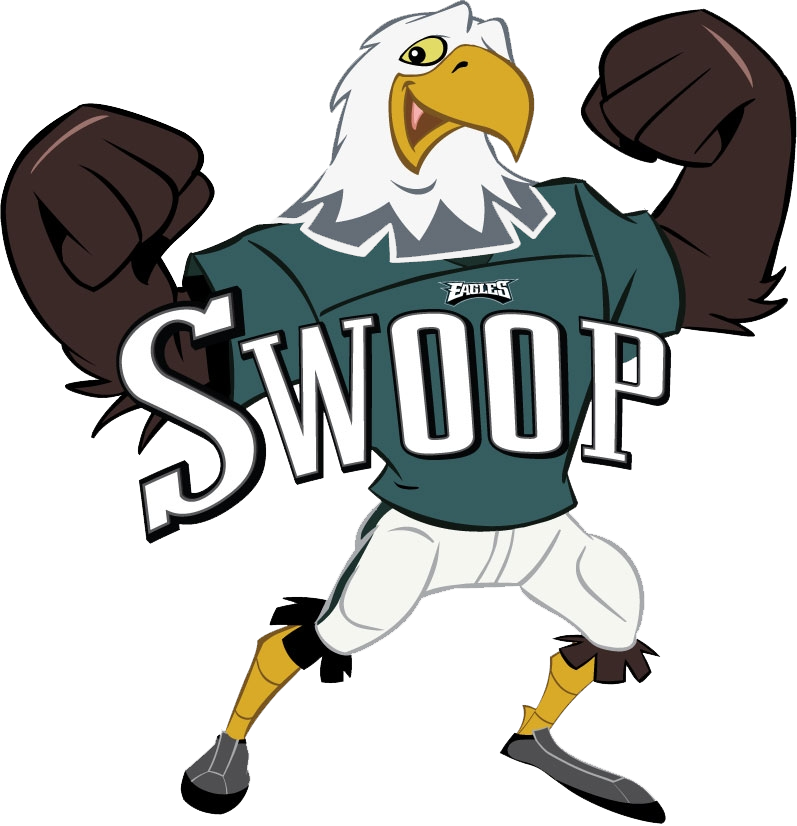 Baseball team swoop clipart vector transparent download Philadelphia Eagles Swoop | JERSEY: #00 | games | Pinterest vector transparent download