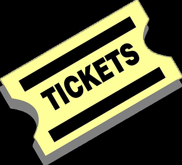 Football ticket clipart vector library First 2016 Ticket SOLD! | Marina High School Grad Night vector library