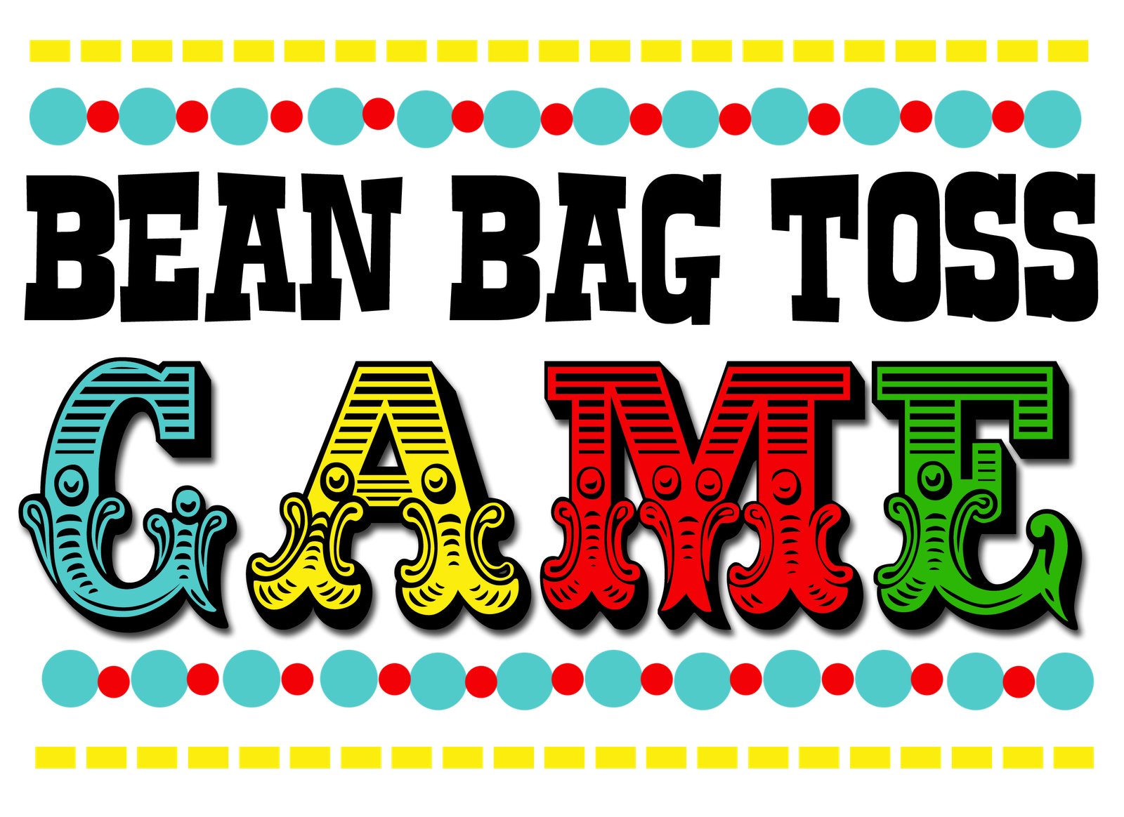 Baseball ticket clipart printable royalty free download Printable carnival game signs | Spring Festival | Pinterest ... royalty free download