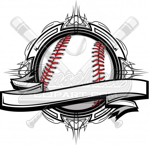 Baseball tribal clipart clip Baseball Vector Clipart Vector Clipart Image clip