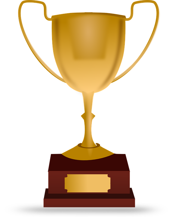 Baseball trophy clipart.  prize for free