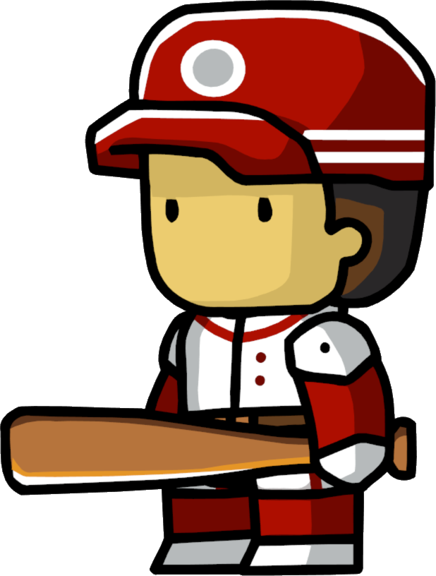 Baseball umpire clipart banner freeuse library Baseball Player | Scribblenauts Wiki | FANDOM powered by Wikia banner freeuse library