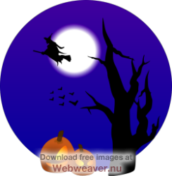 Thanksgiving clipart 400x150 transparent Halloween Clip Art Scared - Clipart Vector Illustration • transparent