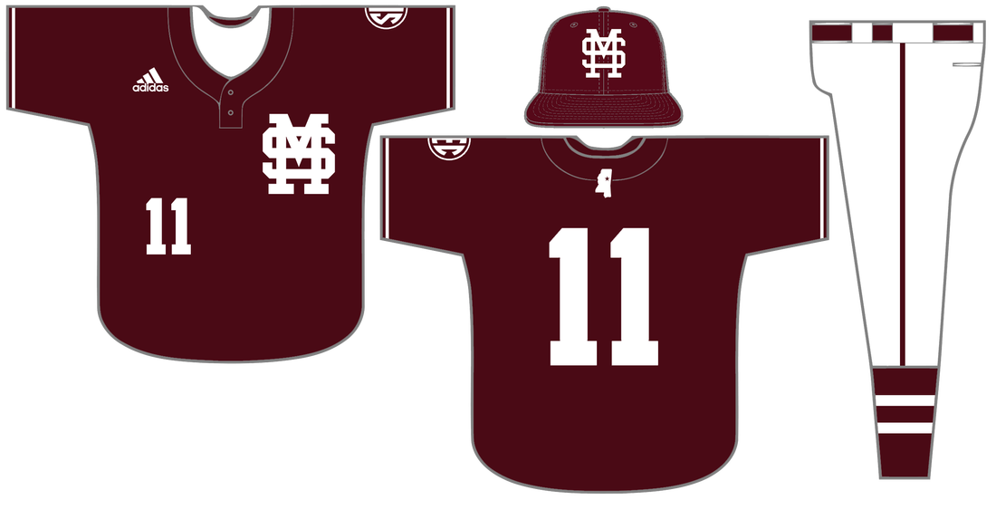 Baseball uniform clipart clipart royalty free library Baseball: Master Plan (2017 Concept) - Hail State Unis clipart royalty free library