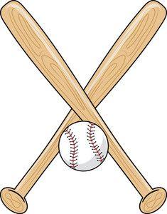 Baseball up to bat clipart clip art library stock baseball bat clipart | paper-ca:sports | Baseball, Softball bats ... clip art library stock