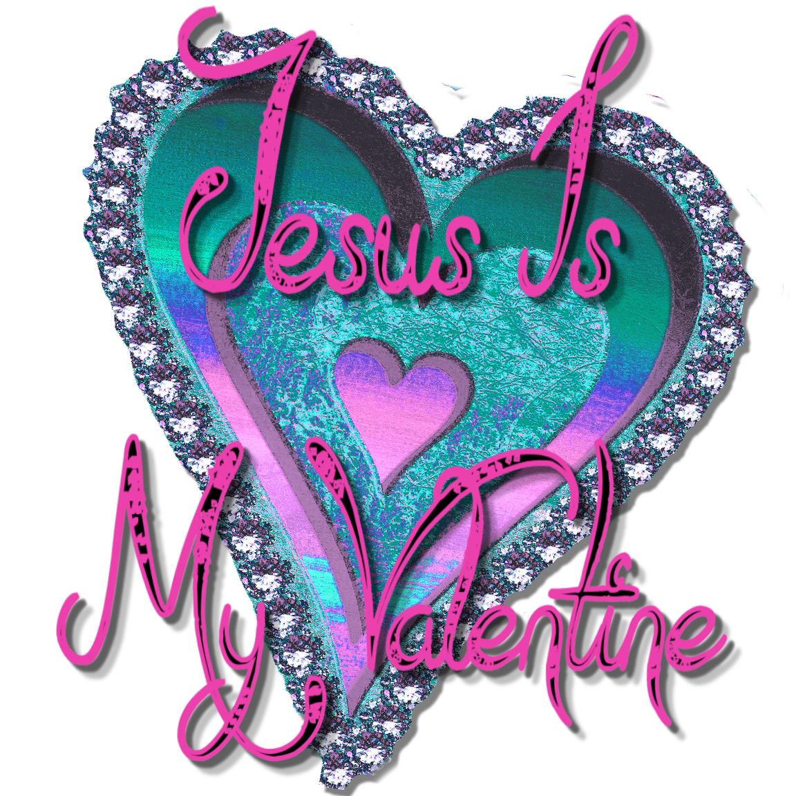 Christian heart clipart png library download Christian Images In My Treasure Box: Jesus Is My Valentine ClipArt png library download