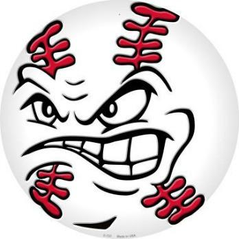 Baseball with face clipart clip art transparent download Angry Baseball Clipart Sign Metal Grande Face - Clipart1001 - Free ... clip art transparent download