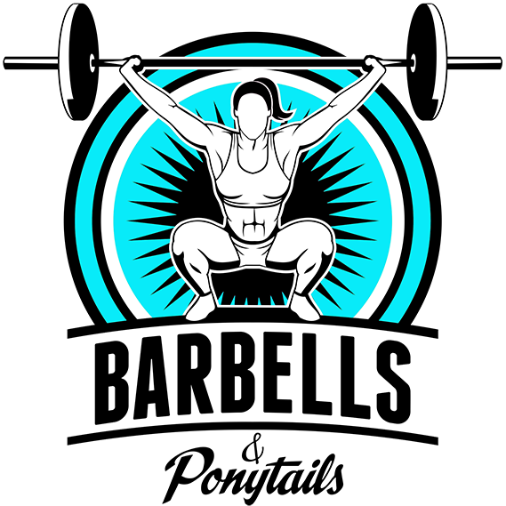 Gymnastics grips barbells ponytails. Baseball with ponytail clipart