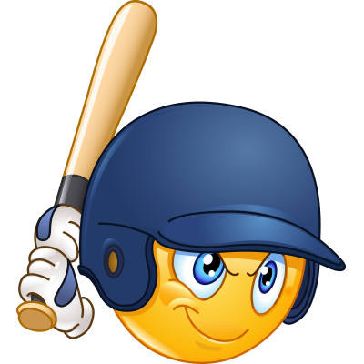 Baseball with smile face clipart graphic freeuse stock Batter Up | Emoticons 101 | Emoji clipart, Emoticon, Smiley emoji graphic freeuse stock