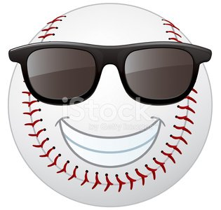 Baseball with smile face clipart clip art free stock Baseball Smiley Face premium clipart - ClipartLogo.com clip art free stock