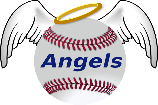 Baseball with wings logo clipart banner royalty free library Angels Baseball Clipart | Free download best Angels Baseball Clipart ... banner royalty free library