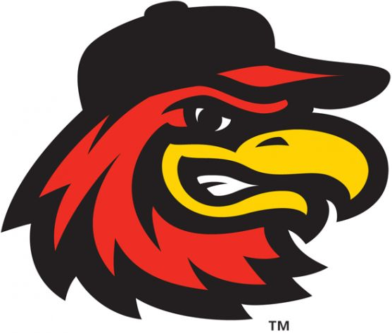 Baseball with wings logo clipart free download Rochester Red Wings Alternate Logo - International League (IL ... free download