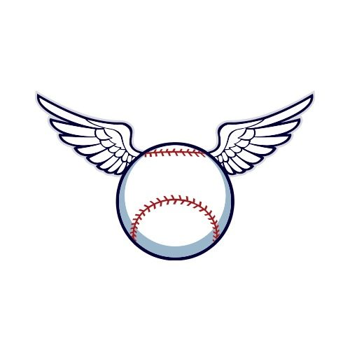 Baseball with wings logo clipart freeuse library CAT 2-BASEBALL-WINGS Clip Art - Get Started At ThatShirt! freeuse library