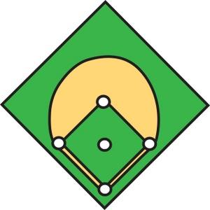 Baseballinfielders mages clipart graphic transparent Clip Art Baseball Infield | Clipart Panda - Free Clipart Images graphic transparent
