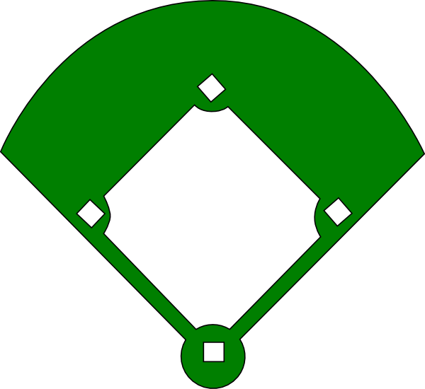 Baseballinfielders mages clipart vector library library Clip Art Baseball Infield | Clipart Panda - Free Clipart Images vector library library