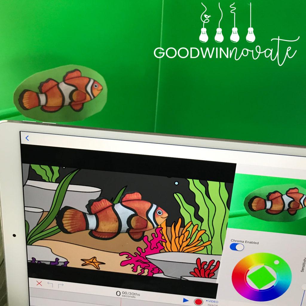 Basegreenscreen clipart image library download Mini Green Screen on a Budget - Goodwinnovate image library download