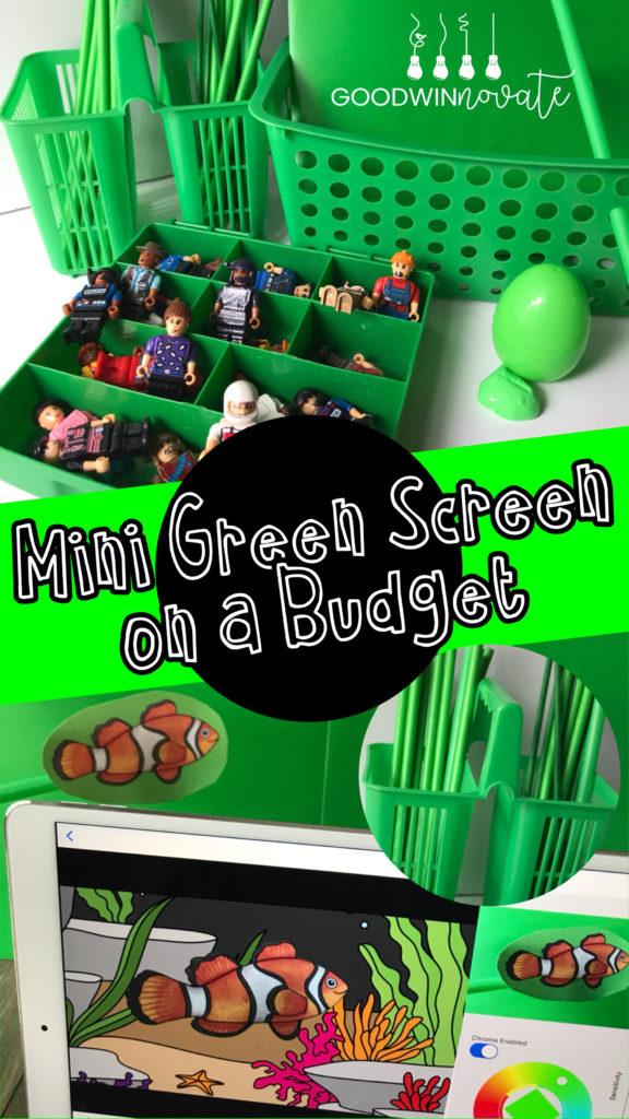 Basegreenscreen clipart clip art Mini Green Screen on a Budget - Goodwinnovate clip art