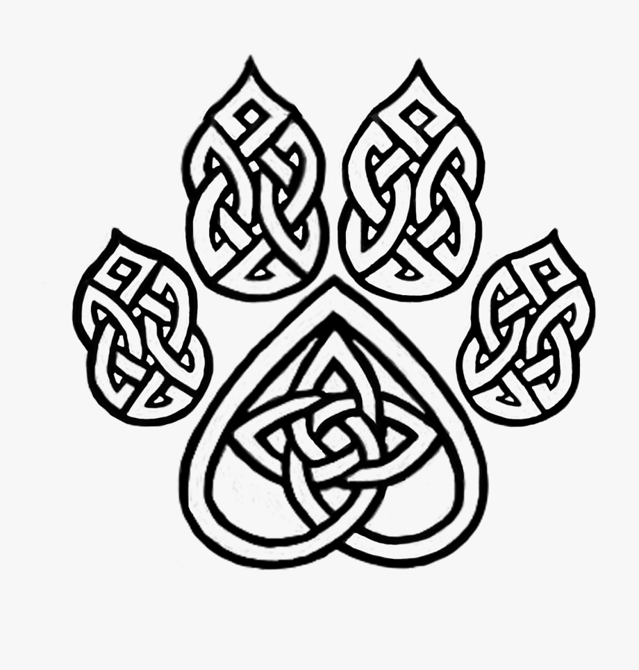 Basic celtic pattern tattoo black and white clipart freeuse stock Celtic Drawing Knot - Celtic Knot Animal Tattoo #604246 - Free ... freeuse stock
