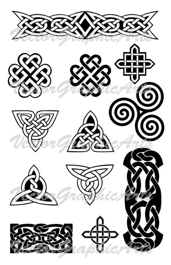 Celtic clipart vector banner free library Celtic ornament in vector files for your design. Ornament for a ... banner free library