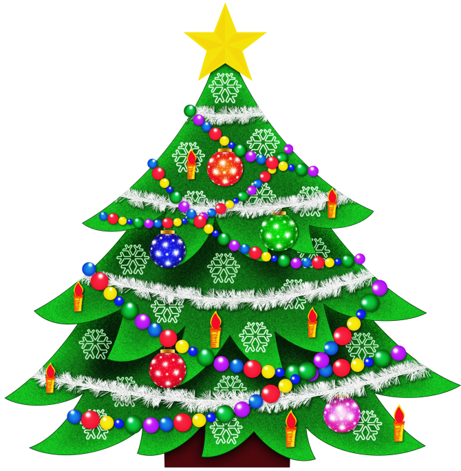 Christmas tree top view clipart svg library stock CHRISTMAS TREE CLIP ART | CLIP ART - CHRISTMAS 1 - CLIPART ... svg library stock