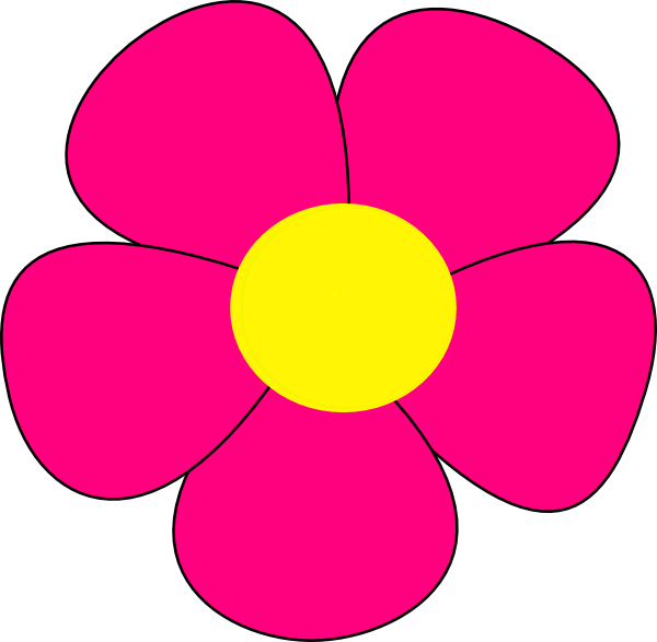 Basic at getdrawings com. Flower clipart simple
